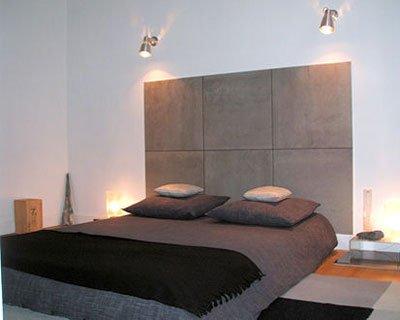 decoration chambre tete de lit