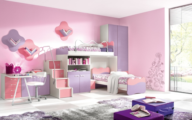 Emejing Deco De Chambre De Fille Pictures - Design Trends 2017 ...