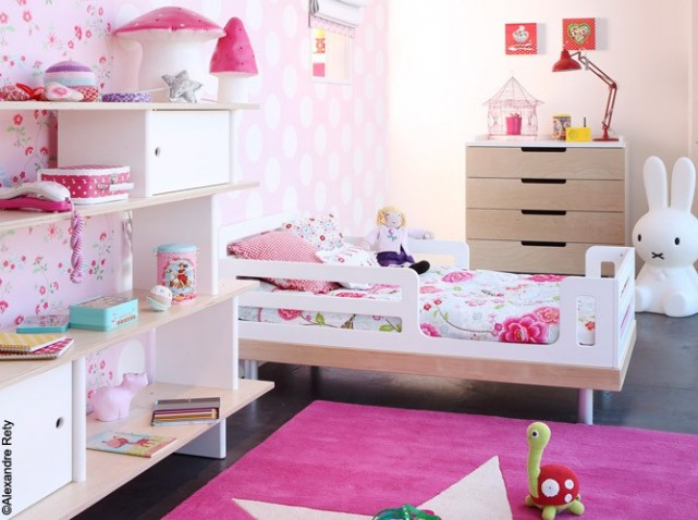 deco de chambre petite fille visuel 2. Black Bedroom Furniture Sets. Home Design Ideas