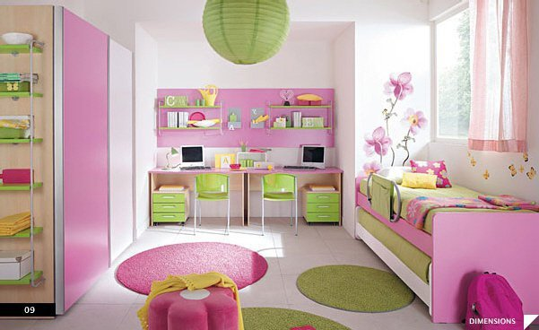 d coration chambre de petite fille. Black Bedroom Furniture Sets. Home Design Ideas