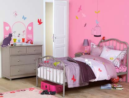 deco de chambre petite fille visuel 9. Black Bedroom Furniture Sets. Home Design Ideas