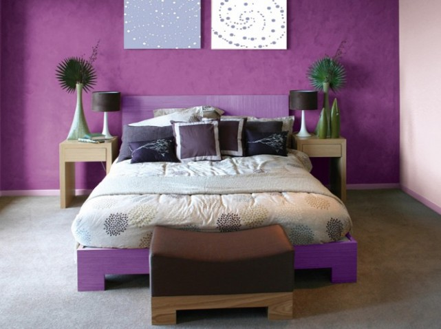 deco peinture chambre 2 couleurs visuel 9. Black Bedroom Furniture Sets. Home Design Ideas