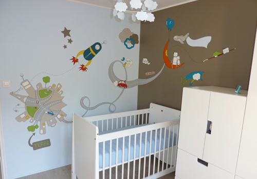 deco peinture pour chambre de bebe visuel 7
