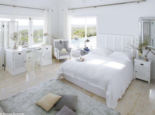 Deco pour une chambre blanche visuel 8 for Deco pour une chambre