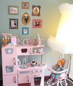 decoration chambre bebe fille vintage visuel 4. Black Bedroom Furniture Sets. Home Design Ideas