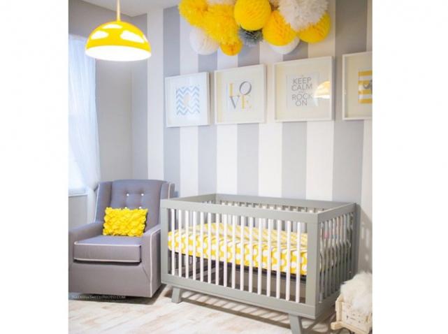 decoration chambre bebe jaune - visuel #2