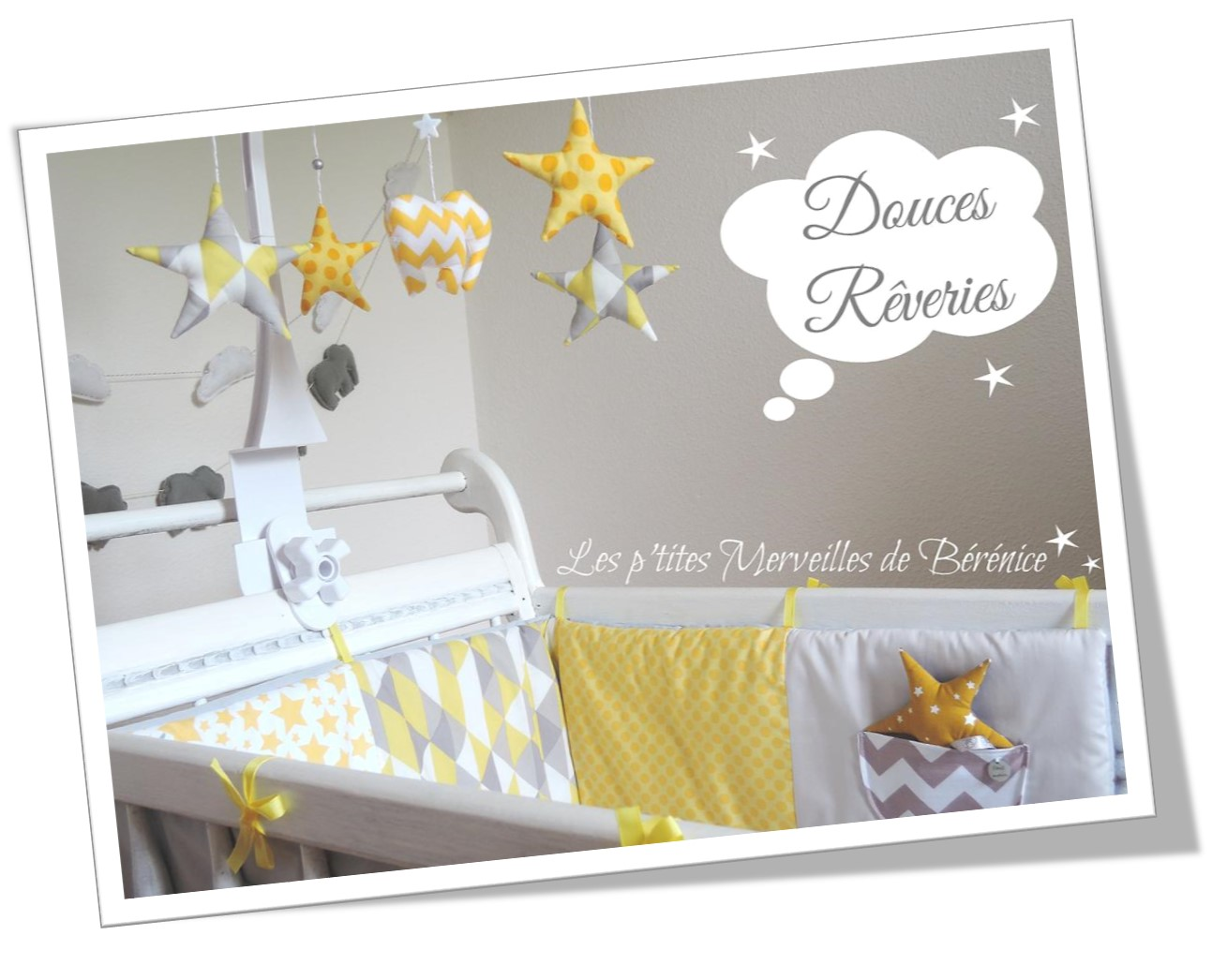 Decoration chambre bebe jaune 210636 la for Decoration maison jaune