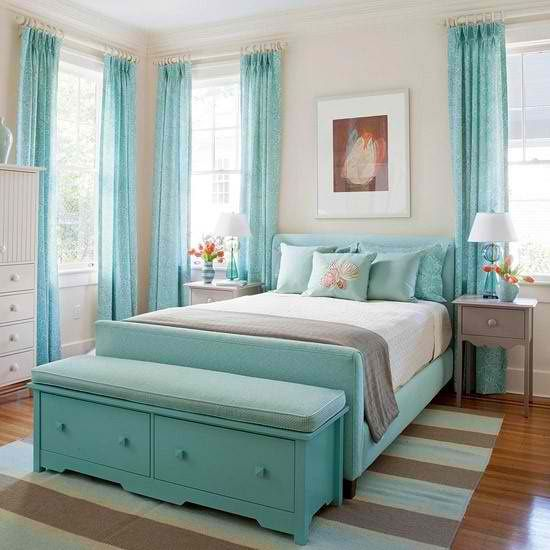 Awesome Chambre Turquoise Et Chocolat Contemporary - Design Trends ...