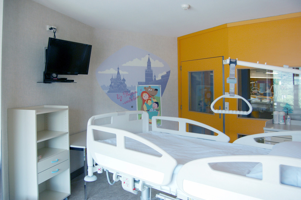 Decoration chambre hopital visuel 1 for Chambre d hopital