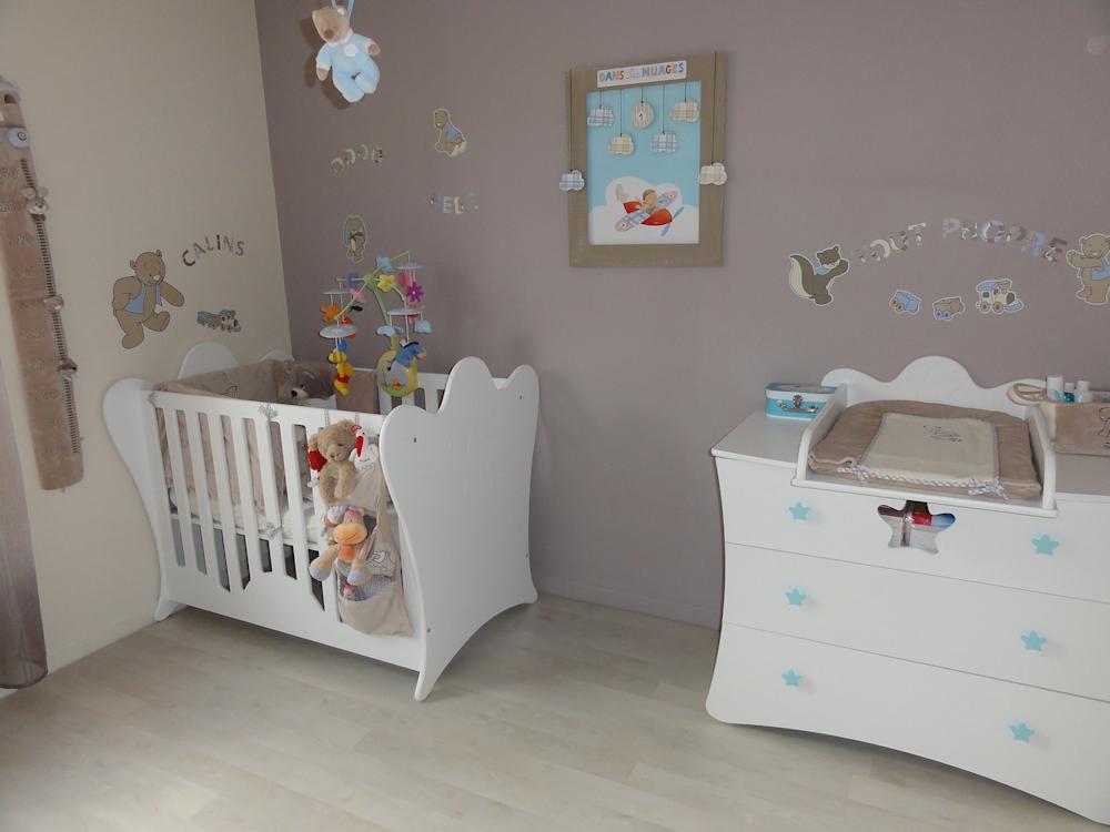 Décoration chambre bébé  Fabrique Casse Noisette
