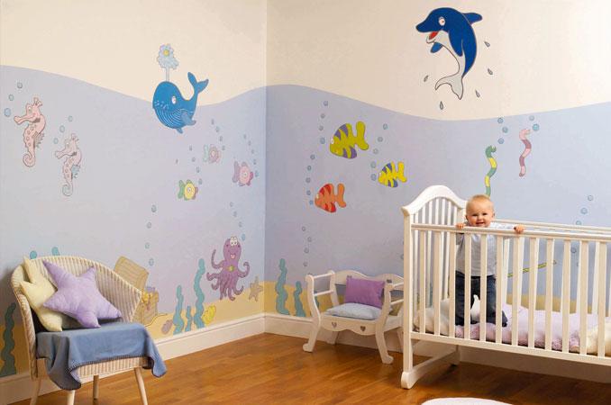 Décorations murales et accessoires pour embellir la chambre de bébé