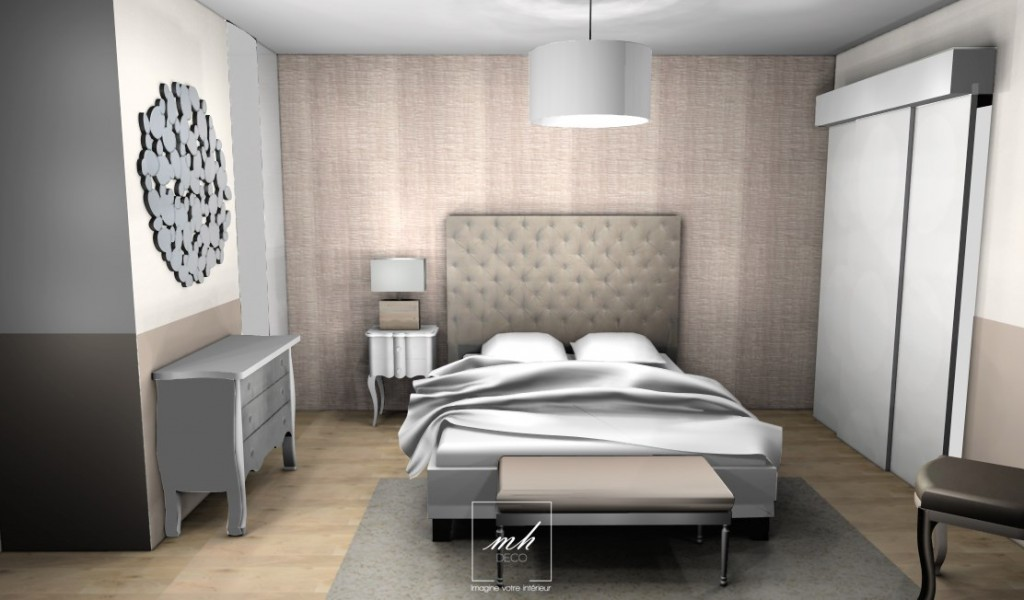 Chambre parentale deco maison design for Deco sdb 2016