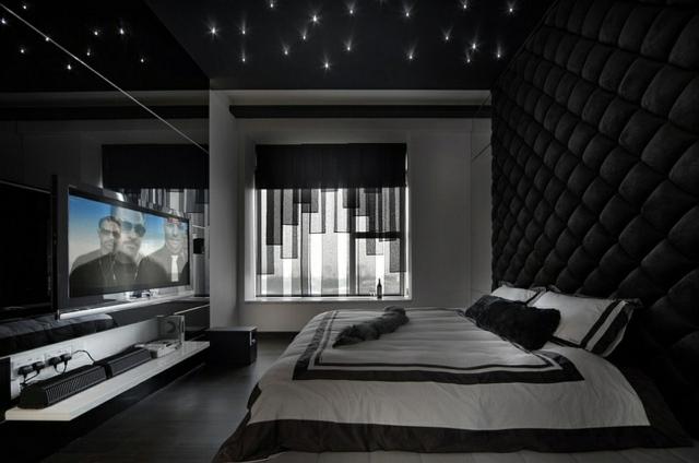 decoration chambre sombre
