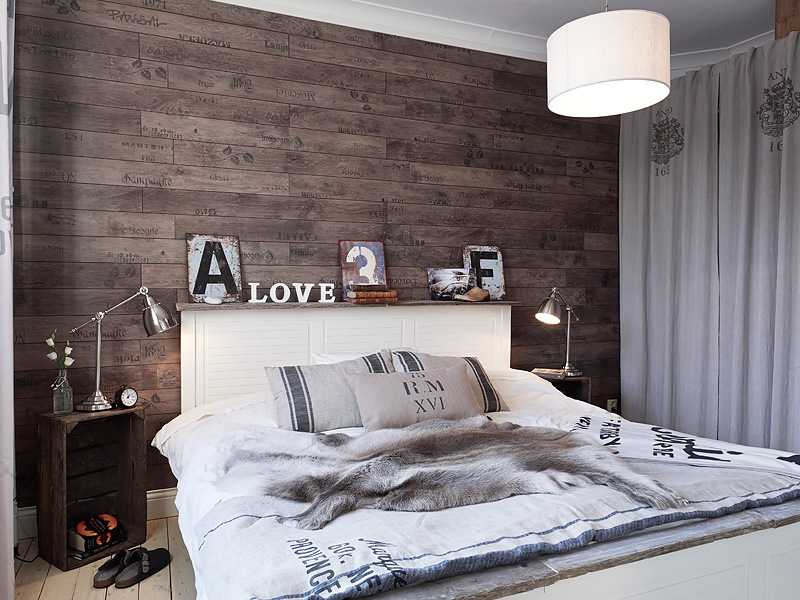 decoration chambre style nordique visuel 2. Black Bedroom Furniture Sets. Home Design Ideas