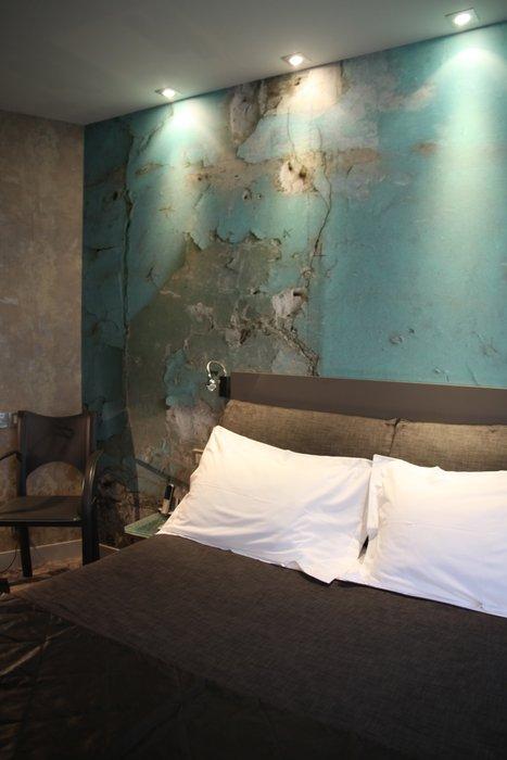 decoration chambre taupe et bleu - visuel #3