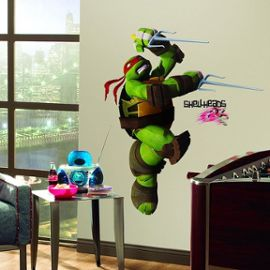 décoration chambre tortue ninja