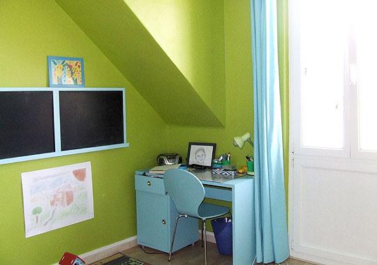 Chambre Vert Anis - Rellik.us - rellik.us