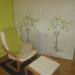 decoration chambre vert anis