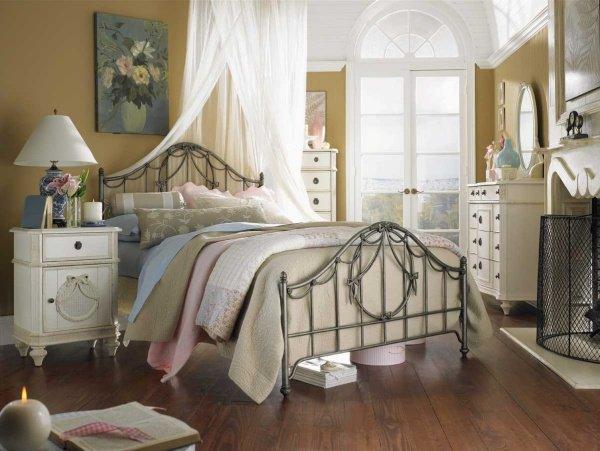 decoration chambre vintage romantique - visuel #9