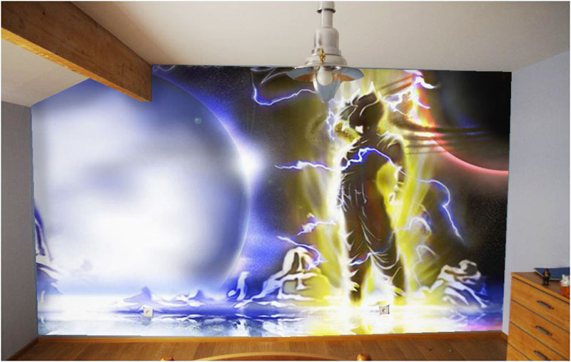 Decoration de chambre dragon ball z visuel 8 for Decoration dragon ball