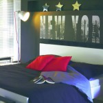 decoration de chambre new-yorkaise