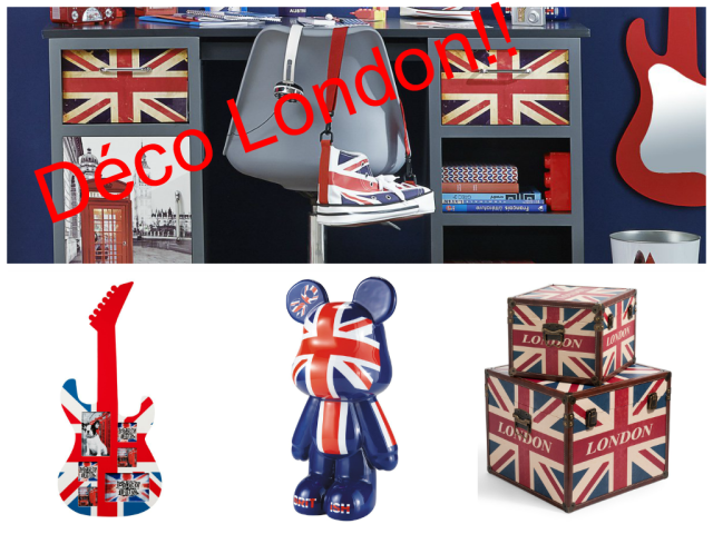 Decoration london chambre ado visuel 7 for Chambre ado style british