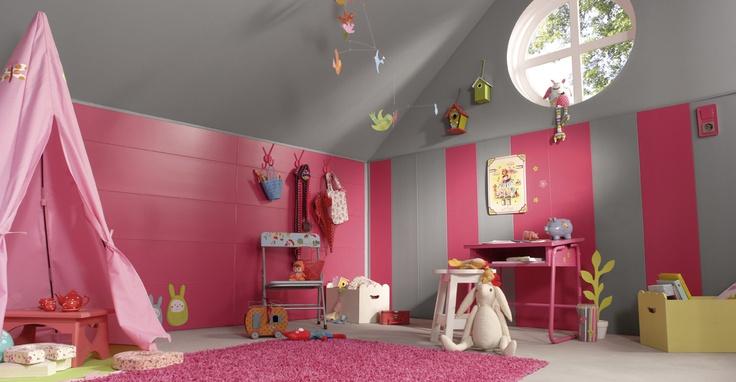 decoration pour chambre fillette visuel 9. Black Bedroom Furniture Sets. Home Design Ideas
