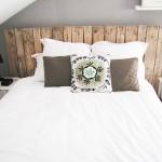 decoration tete de lit en bois