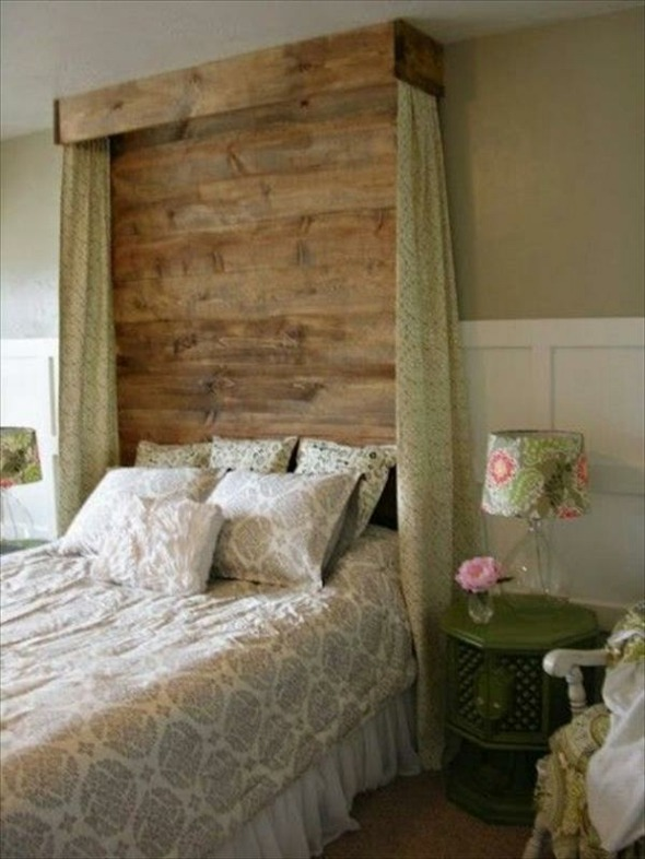 Headboards Made Out Of Pallets