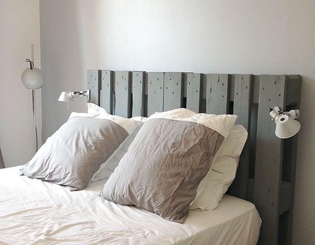 decoration tete de lit en bois visuel 8. Black Bedroom Furniture Sets. Home Design Ideas