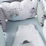 decoration tour de lit bebe