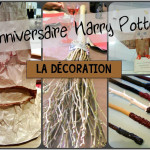 fabriquer deco harry potter