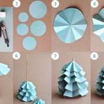 faire decoration en papier
