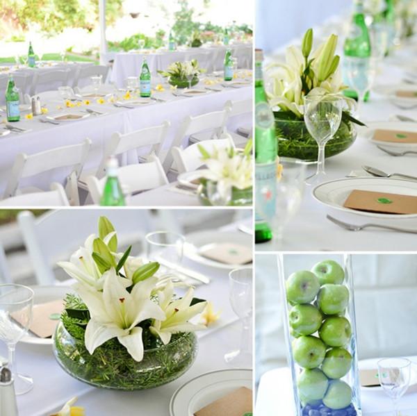 Idee deco de table mariage pas cher - Decoration table pas cher ...