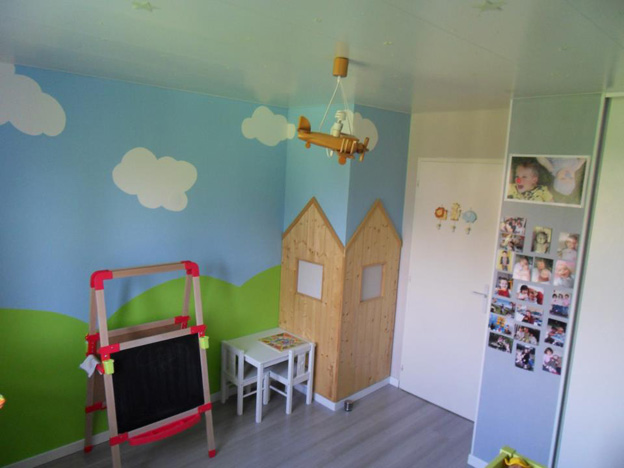 Beautiful Idee Deco Chambre Fille 2 Ans Photos - Amazing House