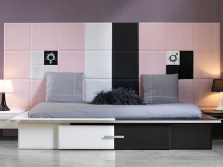 d co chambre jeune femme d co sphair. Black Bedroom Furniture Sets. Home Design Ideas