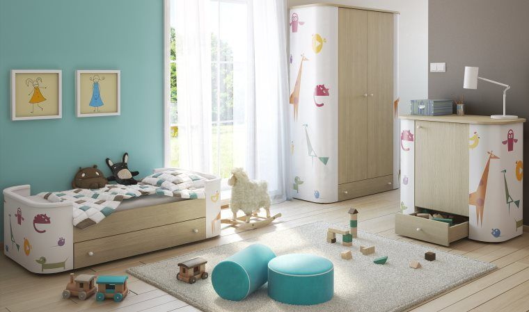 idee decoration chambre fille 2 ans - visuel #8