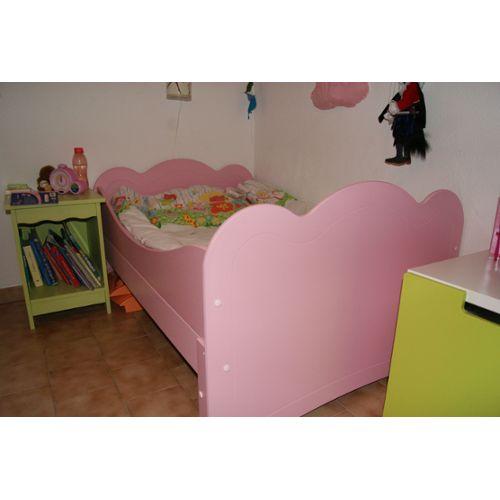lit fille oxybul. Black Bedroom Furniture Sets. Home Design Ideas