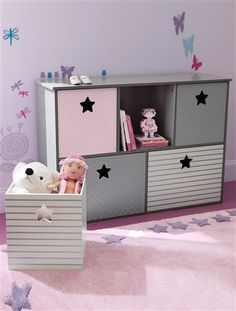 meuble rangement chambre bebe fille visuel 2. Black Bedroom Furniture Sets. Home Design Ideas