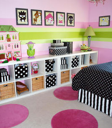meuble rangement chambre bebe fille - visuel #7