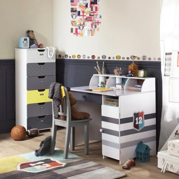 bureau petite fille vertbaudet visuel 2. Black Bedroom Furniture Sets. Home Design Ideas