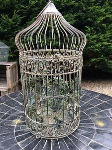 cage oiseau fer forge deco visuel 9. Black Bedroom Furniture Sets. Home Design Ideas