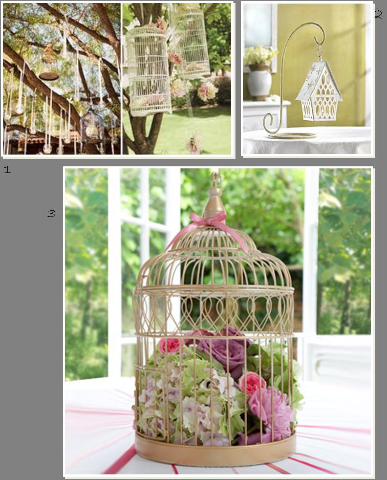 Cage oiseaux deco mariage visuel 3 - Decorer une cage a oiseaux ...
