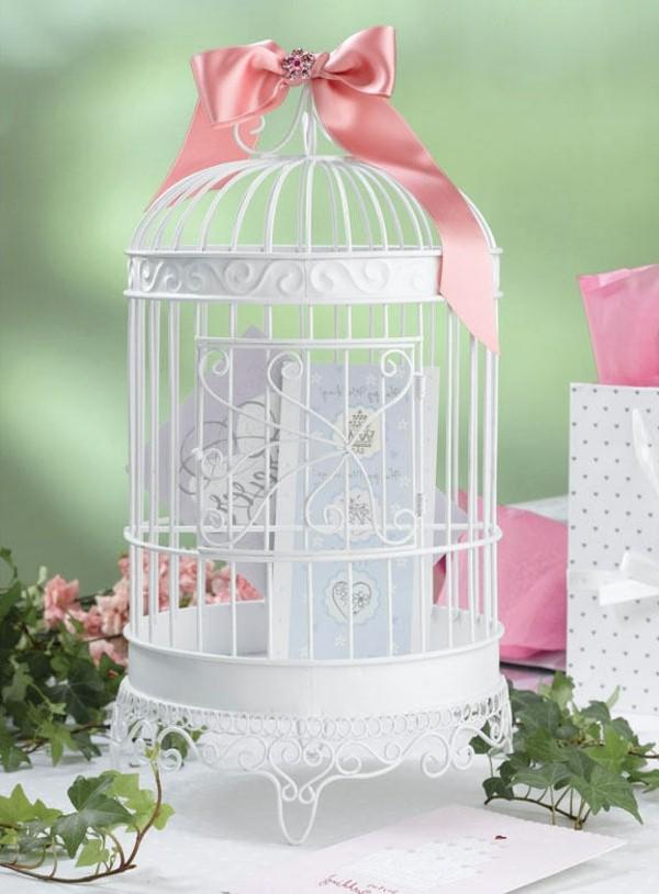 Cage oiseaux deco mariage visuel 8 for Cage a oiseaux deco