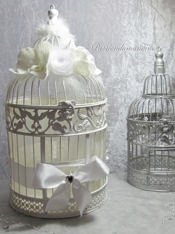 cage oiseaux decorative pour mariage. Black Bedroom Furniture Sets. Home Design Ideas