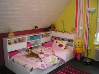d co chambre petite fille 6 ans. Black Bedroom Furniture Sets. Home Design Ideas