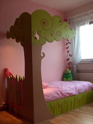 D co chambre fille jardin - Decoration chambre en ligne ...