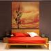 chambre deco orange