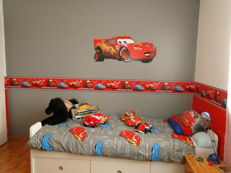 Chambre decoration cars visuel 5 for Decoration chambre cars