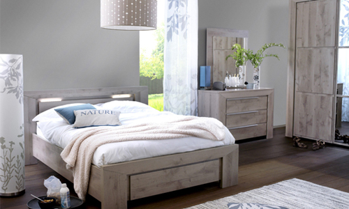 chambre decoration nature visuel 4. Black Bedroom Furniture Sets. Home Design Ideas